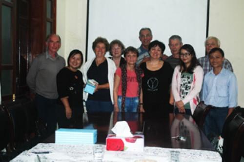 Voyageurs au Vietnam avec Agenda Tour Vietnam