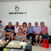 Compte rendu du voyage au Nord Vietnam de madame Marie Gammaitoni (Groupe de Provelli Eric)