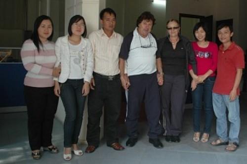 Programme du voyage Vietnam du groupe de madame et Mr Jean Marie Cannac