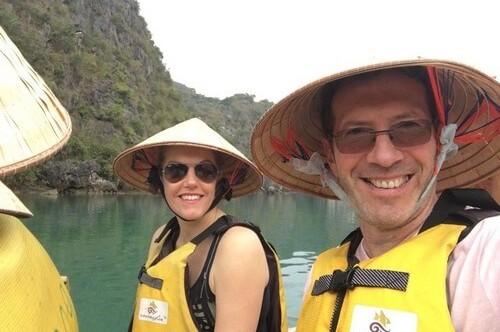 Voyage Vietnam sur mesure, groupe de madame Myriam et monsieur Cyril VOLTERRA, Portable 0685341376