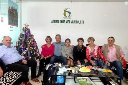 Avis du voyage vietnam du groupe de madame MEDER