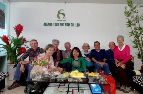 Avis du voyage Vietnam Laos Cambodge du groupe 17 personnes avec Agenda Tour Vietnam