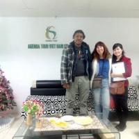Circuit Vietnam du Sud au Nord, Groupe de madame Sylvie Bérard et Monsieur Enock Exantus