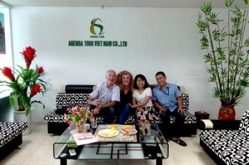 Compte rendu du voyage au Vietnam de Mr Christian Pasquelin et Mme Véronique Kendziorski