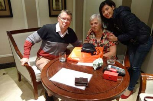 Groupe de Mrs et Mr Chantal et André Versteegh (Voyage Vietnam)