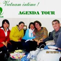 Itineraire Vietnam du Nord au Sud du groupe de mr Pierre et mrs Lorette DALAINE