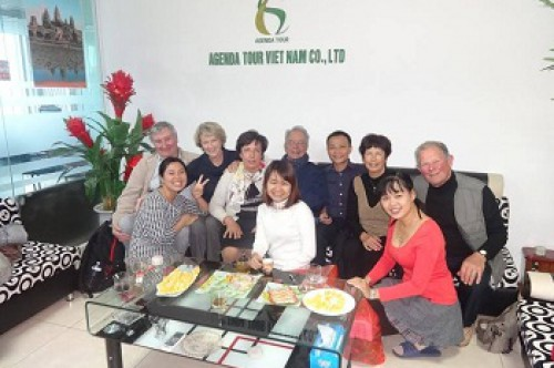 Le programme du voyage Vietnam cambodge du groupe de madame Anna BOVO