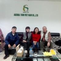 Programme de voyage au Vietnam de madame et Monsieur Raymond Mongeau et Marie France Daniel avec Agenda Tour Vietnam