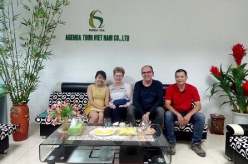 Programme de voyage au Vietnam pour Mme et Mr BOUVART