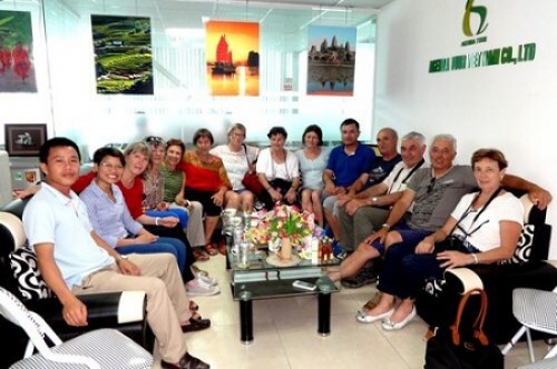 Programme du voyage au nord Vietnam du groupe de M NARFIT RENÉ(12 PERSONNES)