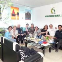 Programme du voyage au Vietnam de la famille de Madame Eve PELÉ