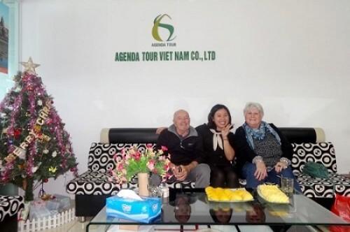 Programme du voyage au Vietnam de madame et monsieur CARBONNIER