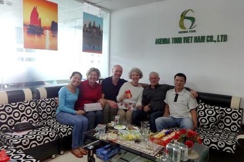 Programme du voyage au Vietnam du groupe de Madame Catherine DEPERSIN (4 personnes)