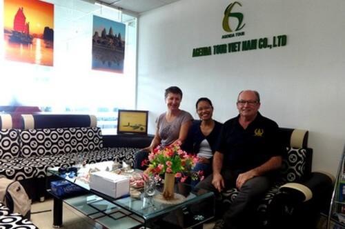 Programme du voyage au Vietnam du groupe de Monsieur Daniel DROULEZ