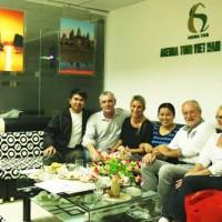Programme du voyage au Vietnam du groupe Monsieur Francis Piolet (4 personnes)