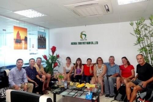 Programme du voyage au Vietnam groupe de Mr Luc Patrick Labrie