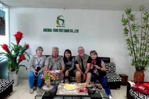 Programme du Voyage Vietnam et Cambodge du group Robert Waché (4 personnes)
