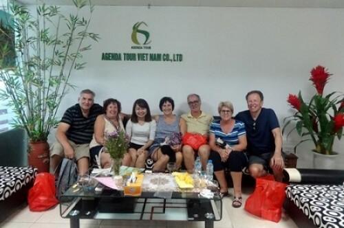 Séjour Vietnam Cambodge, groupe de Monsieur Louise De Seve, 3 semaines