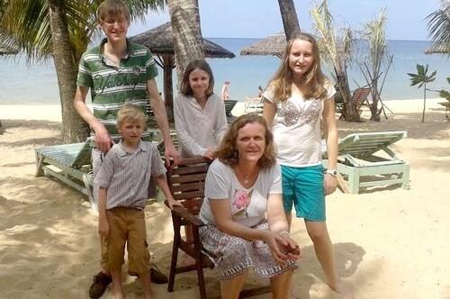 Vacances  Vietnam de la famille de Madame Elisabeth DE LAUBESPIN (6 personnes)