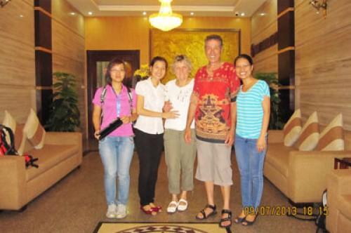 Voyage au Nord du Vietnam du groupe de Monsieur Jean - Marie BERNARD