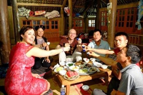 Voyage au Nord Vietnam de la famille du Monsieur Thierry Meurmans