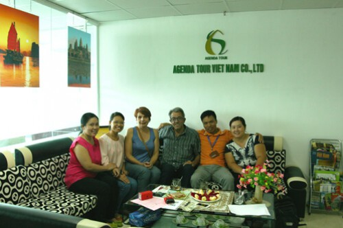 Voyage au Nord Vietnam du groupe de Monsieur et Madame PASCUAL