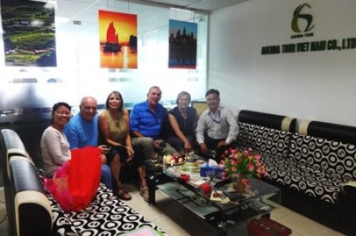 Voyage au Vietnam  du groupe de Monsieur Jean NANTEL (4 personnes)
