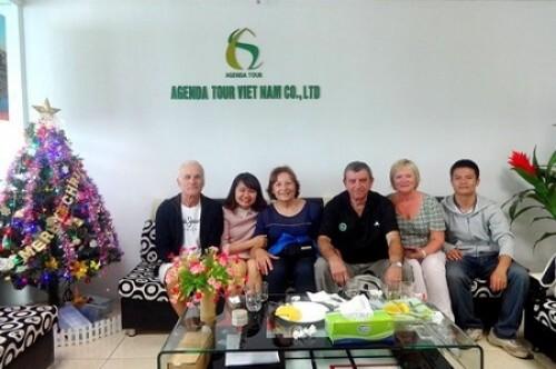 Voyage au Vietnam du groupe de Monsieur OJER (4 personnes)