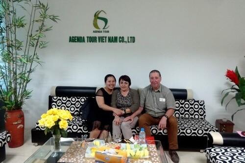 Voyage au Vietnam du groupe de Mr Jean-Luc Wauthy 24 jours