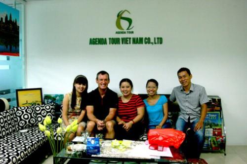 Voyage au Vietnam du groupe de mr Martin Belanger