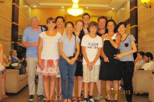 Voyage au Vietnam du Nord au Sud du groupe de Mr Gilberte DEPLANTES - 8 personnes