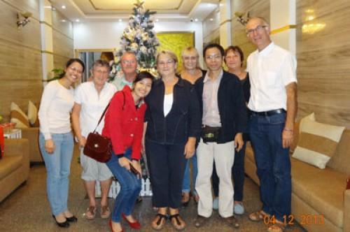 Voyage au Vietnam et Cambodge du groupe de madame Josette et Michel GUILLON ( 6 personnes) 37 jours