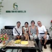 Voyage au Vietnam personnalisé, 19 jours du Nord au Sud de madame Martine et Monsieur Romain Bilat