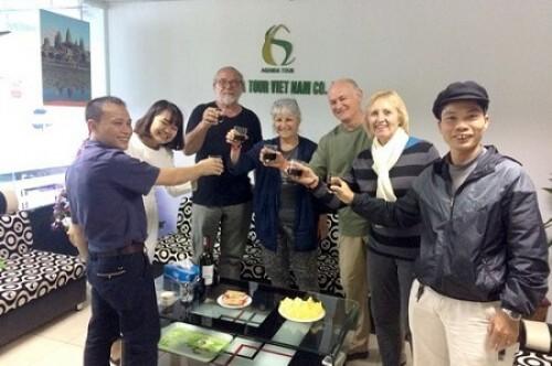 Voyage Cambodge Vietnam du groupe de madame Marie Jeanne MEGTERT