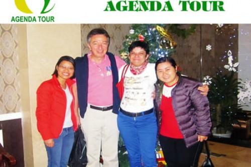 Voyage et vacances Vietnam du groupe de mrs Christine et  mr André Dondeyne