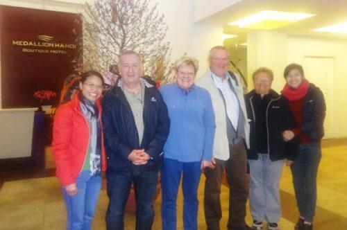 Voyage Vietnam du groupe de Monsieur RIO JEAN-CLAUDE (4 personnes)