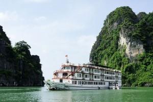 Croisière Halong en Jonque Huong Hai 2 jours/ 1 nuits