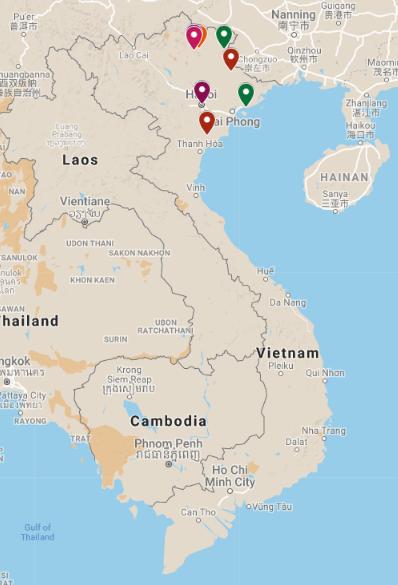 Nord - Est Vietnam/ 11jours