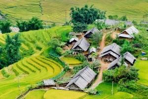 Nord -Ouest Vietnam authentique 12 jours (Visite du marché de l'amour Moc Chau)