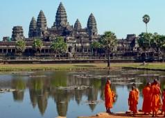 Au coeur d'Angkor, région des mystères au Cambodge