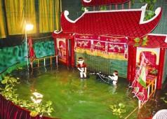 Les marionnettes sur l'eau d'Hanoi - Vietnam