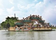 Temple flottant Phu Chau à Saigon - Unique temple flottant à Ho Chi Minh ville